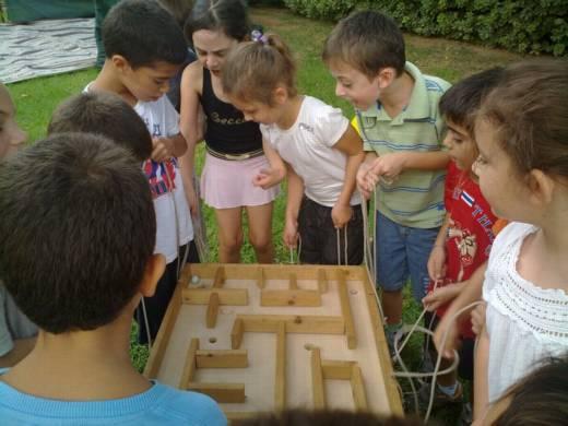 הפעלות לילדים ערוצים בטבע