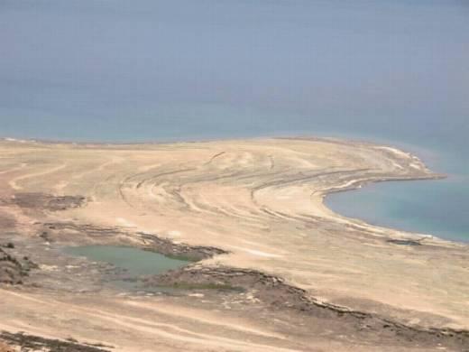 טיול סנפלינג נוף ים המלח מנחל טור עם banketgarim