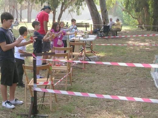 פעילות אתגרית לילדים - יום הולדת