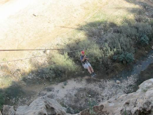 אומגה 80 מטר - יום כיף של חברת אינטל וערוצים בטבע