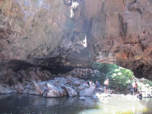 טיולים בצפון - סנפלינג בנחל זויתן banketgarim