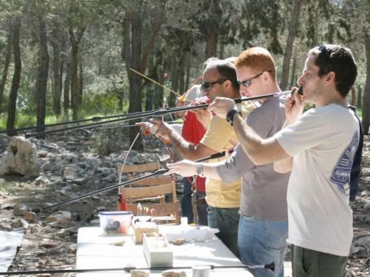 מטווחי ירי - ערוצים בטבע