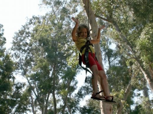 האומגה, פעילות לילדים ערוצים בטבע
