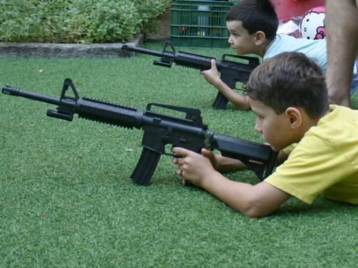 ירי באיירסופט - פעילות בקייטנה