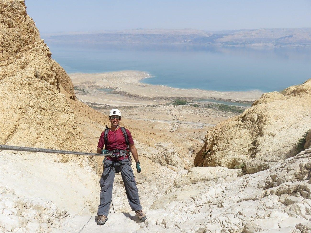 סנפלינג במדבר יהודה - נחל טור עם ערוצים בטבע