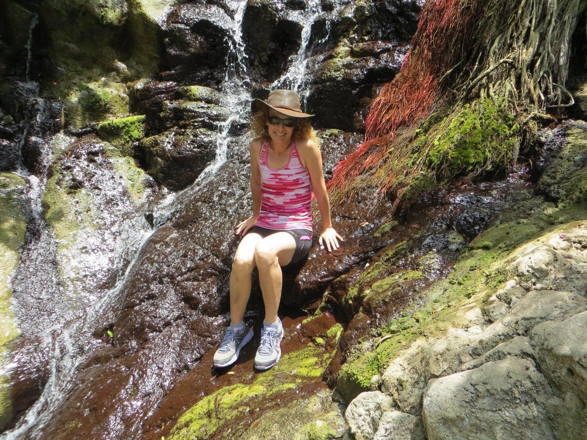 טיול סנפלינג למשפחות בנחל זויתן עם ערוצים בטבע