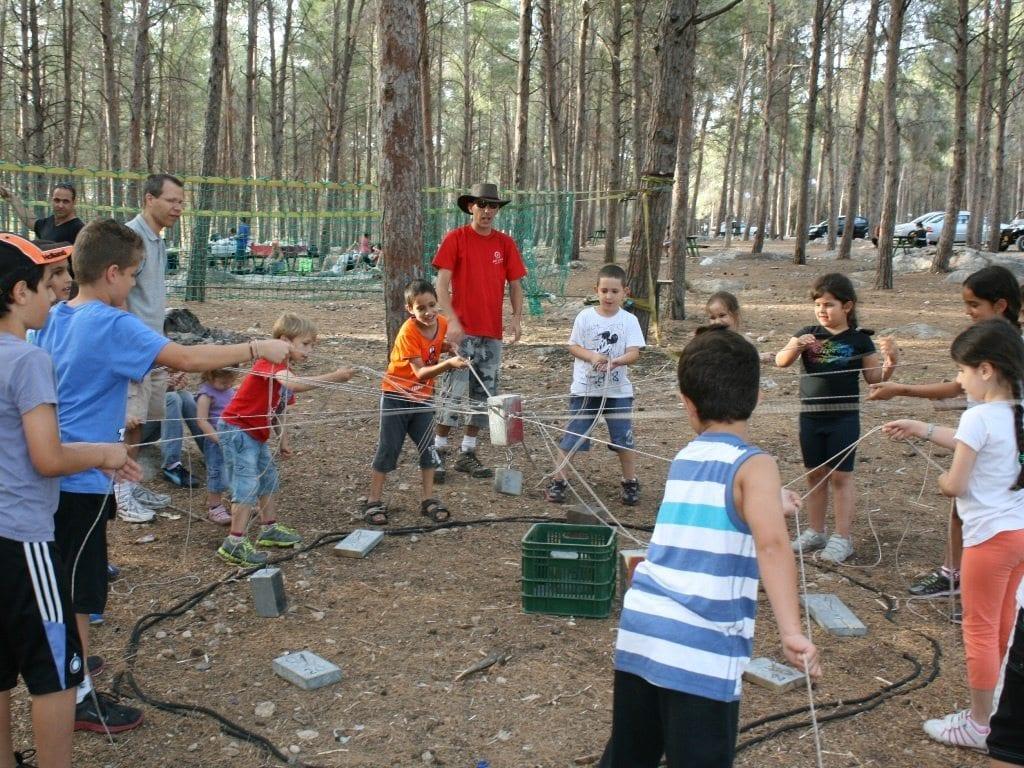 הפעלות אתגריות לכל הכיתה ערוצים בטבע