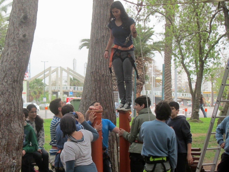 יום גיבוש אתגרי לכיתה ערוצים בטבע