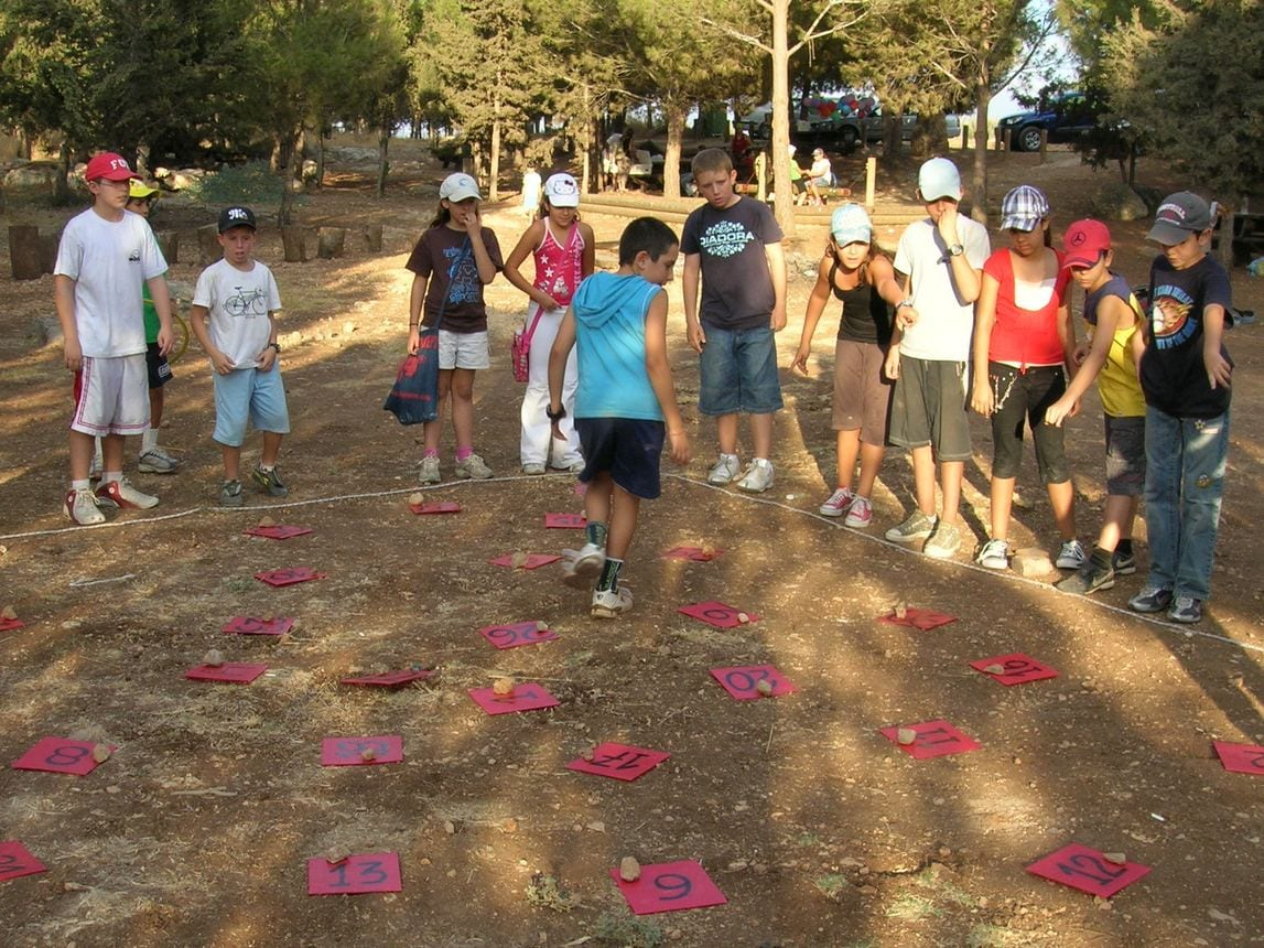 משחקי צוות לגיבוש הכיתה ערוצים בטבע