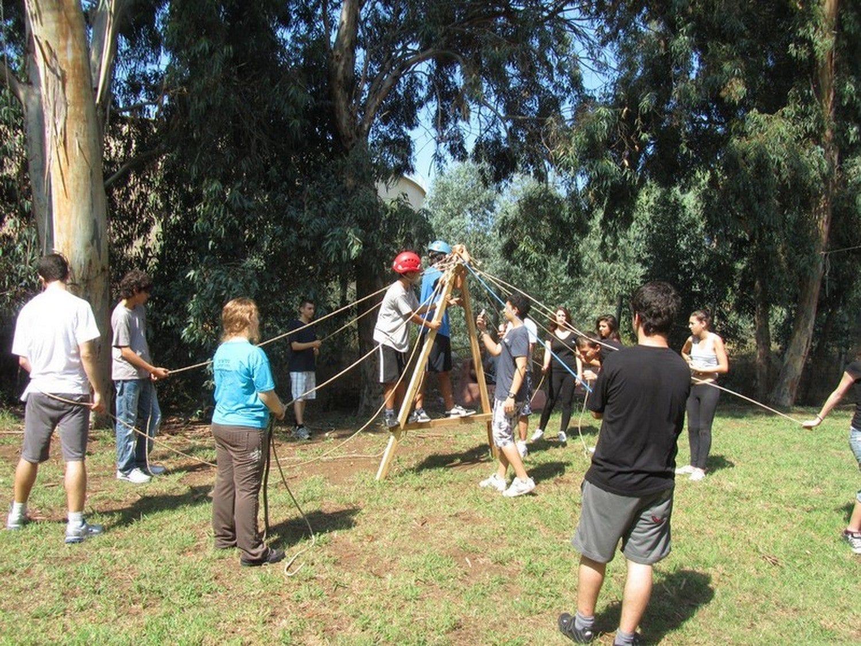 משחקי צוות עם ערוצים בטבע