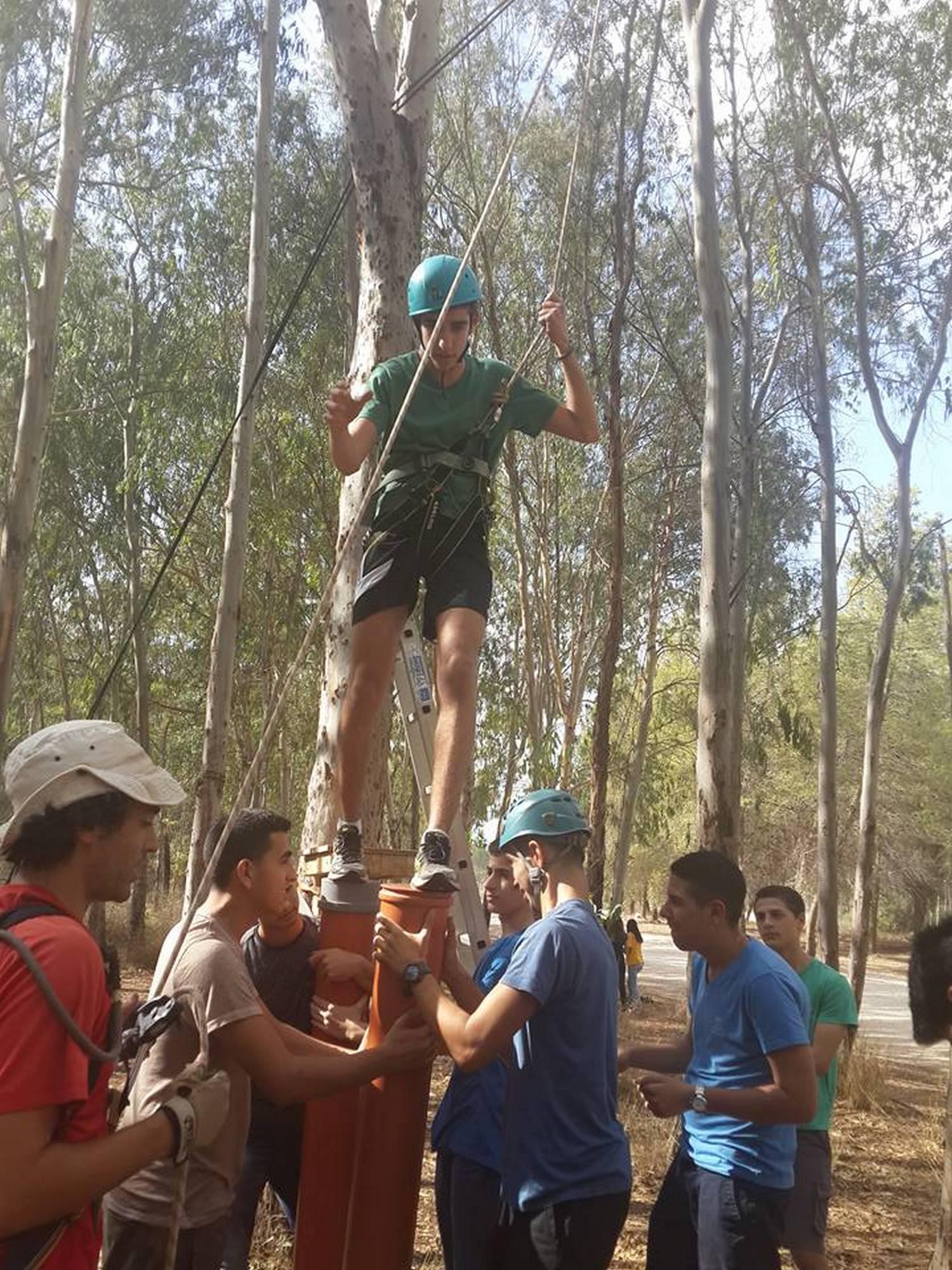 יום גיבוש לבתי ספר עבודת צוות ערוצים בטבע