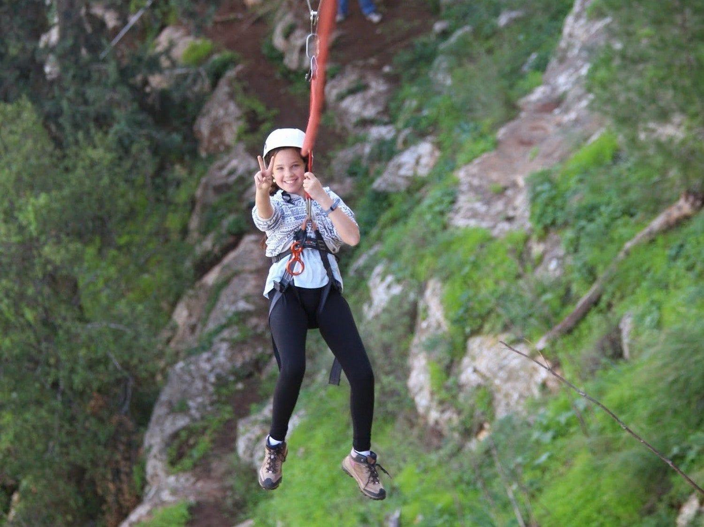 אומגה - מצוק שילת - אקסטרים בבר מצווה - ערוצים בטבע