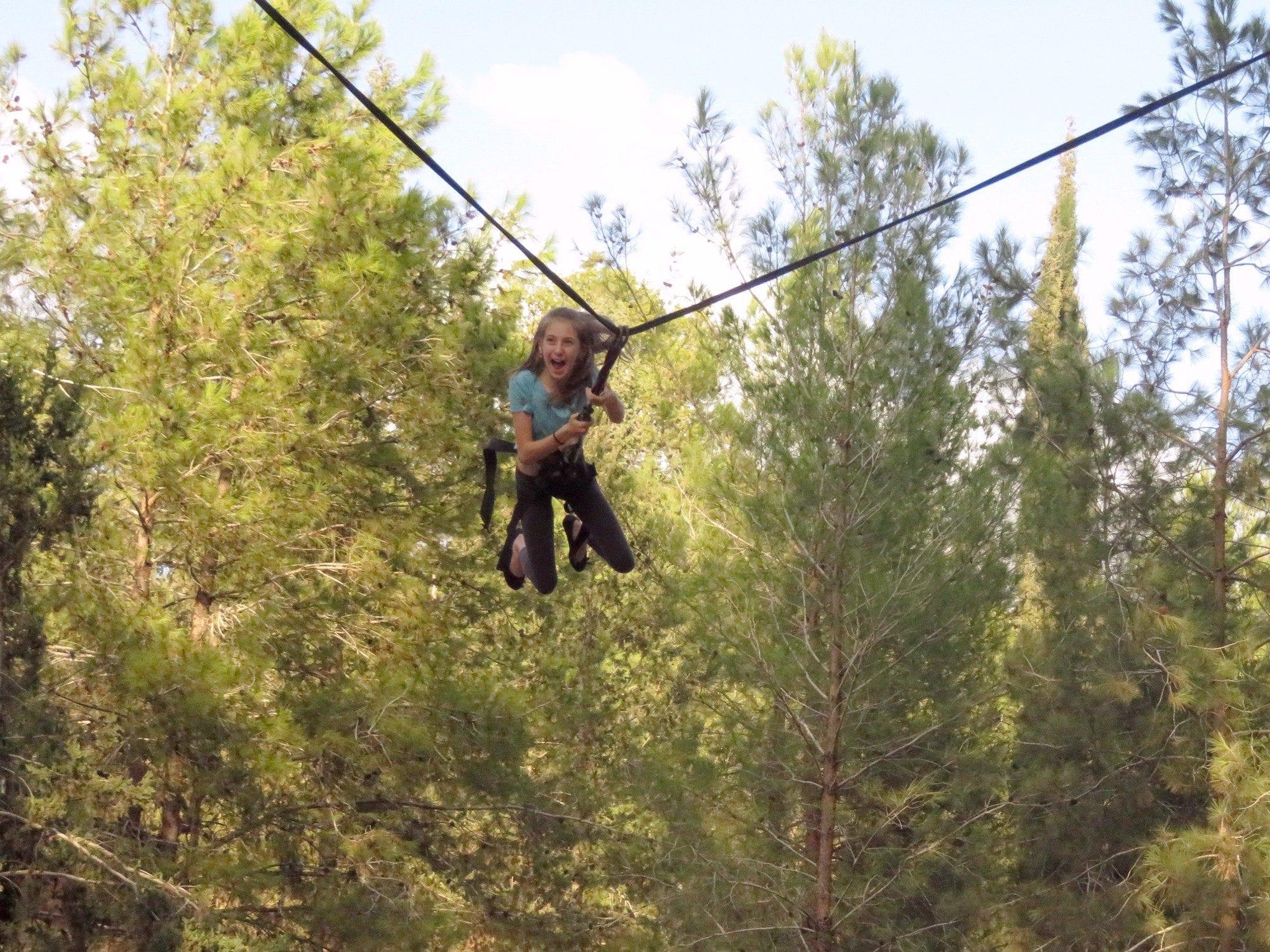 באנג'י נדנדה - בת מצווה עם ערוצים בטבע