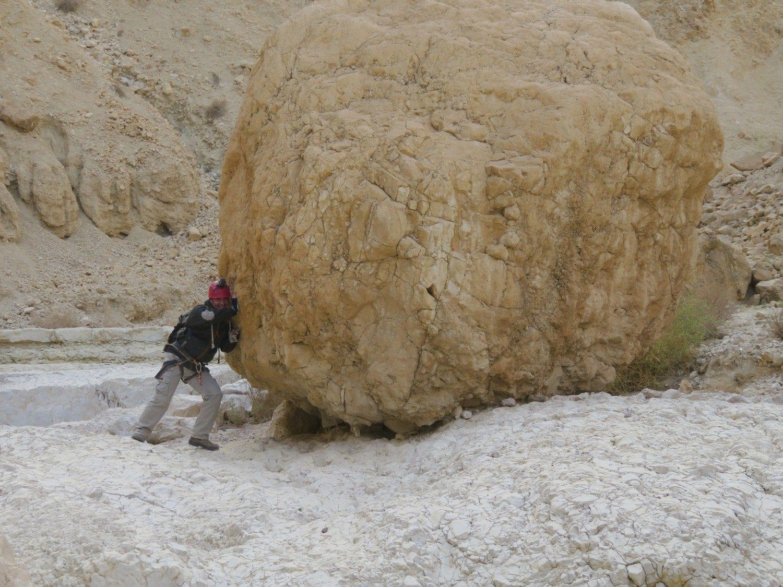 טיול סנפלינג נחל חצצון - כבד מאוד- ערוצים בטבע