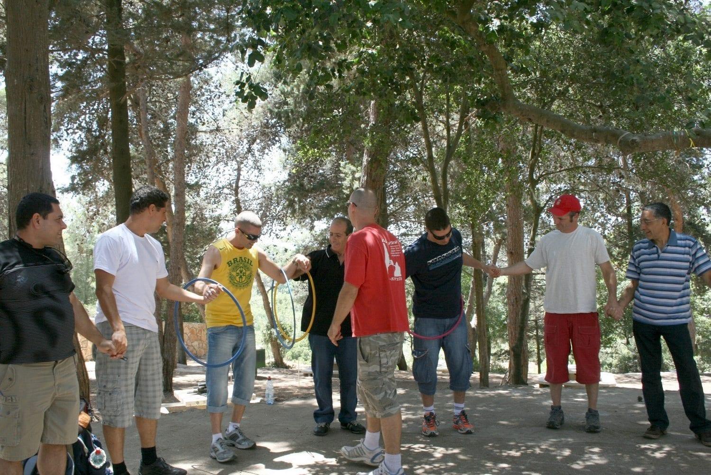יום מיוחד לעובדים - משחקי צוות - ערוצים בטבע