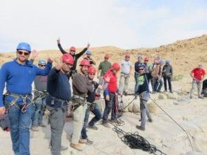 הפקת ארוע לעובדים - סנפלינג - ערוצים בטבע