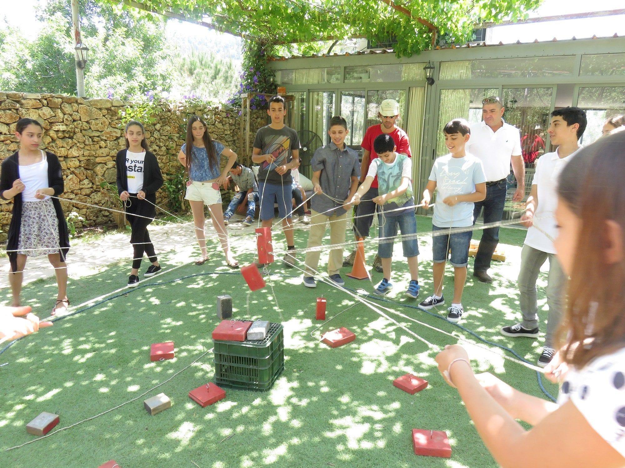 משחקי שיתוף פעולה - בר מצווה - ערוצים בטבע
