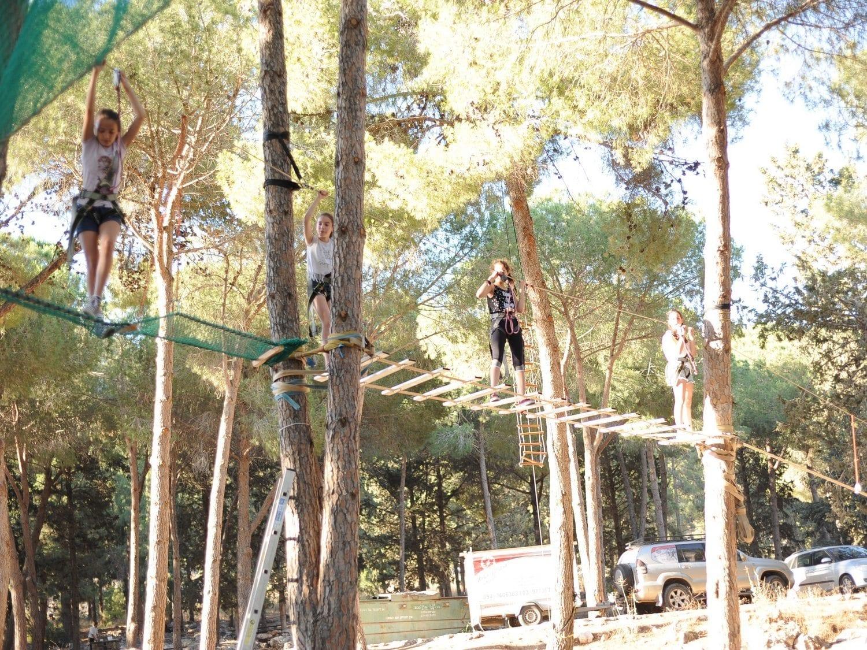 פארק אתגרים בבר מצווה - ערוצים בטבע