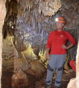 סנפלינג למערות - ערוצים בטבע