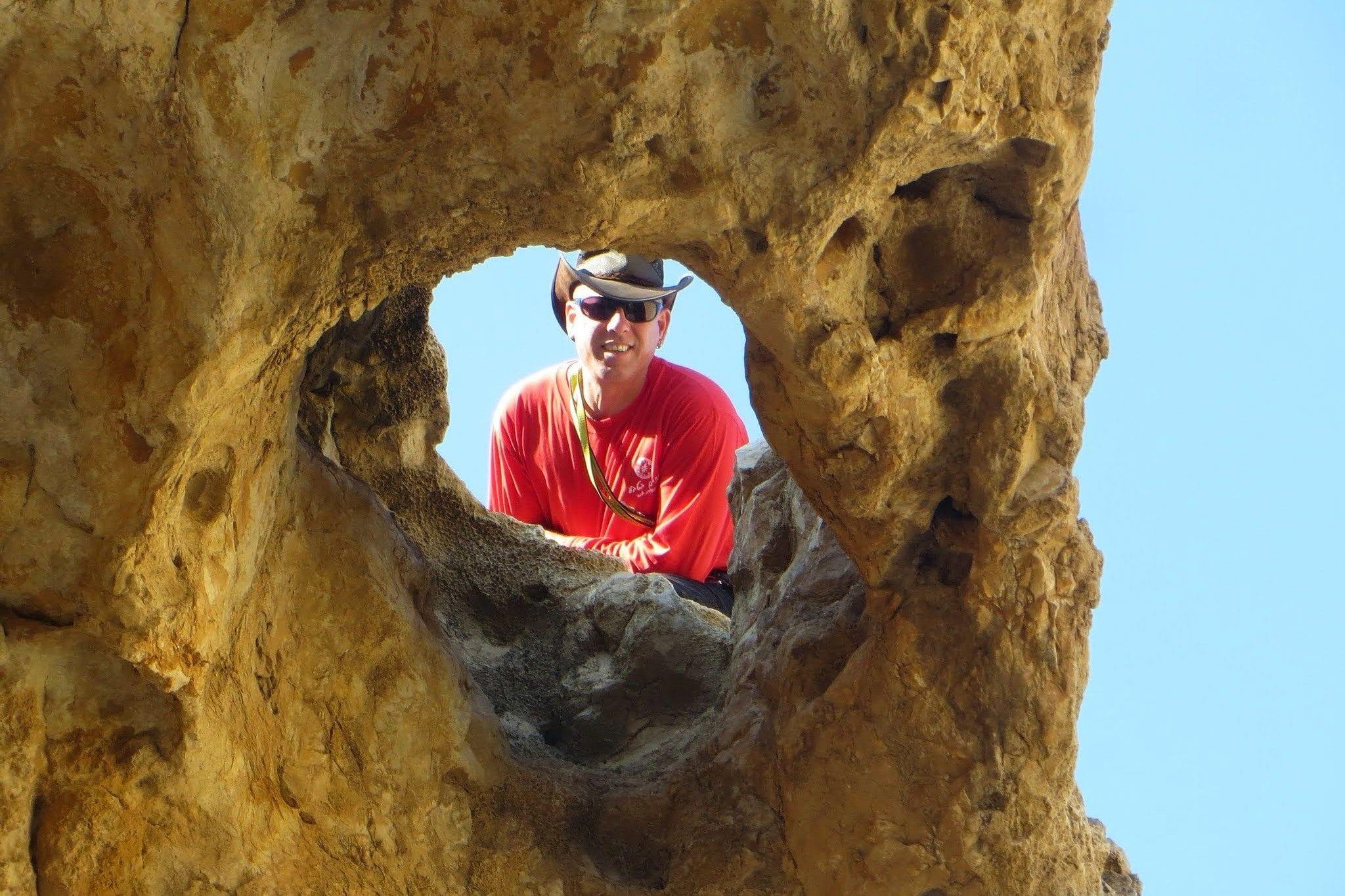 נועם בנק ערוצים בטבע - סנפלינג במדבר יהודה