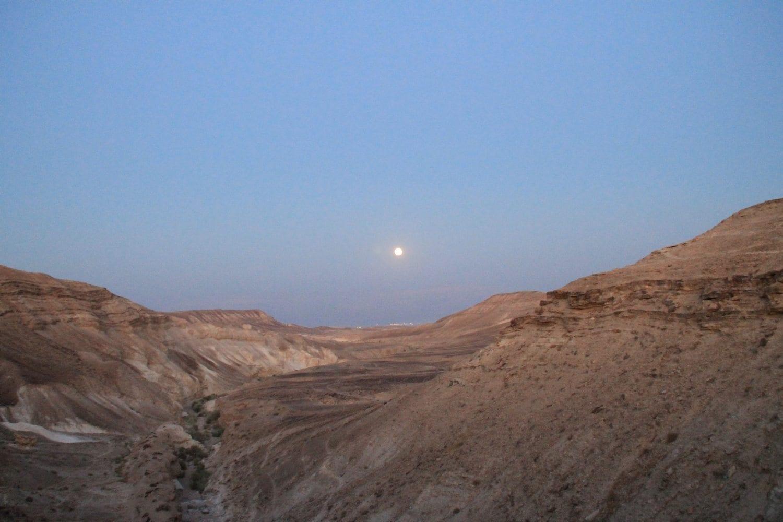 ירח מלא - טיול במדבר