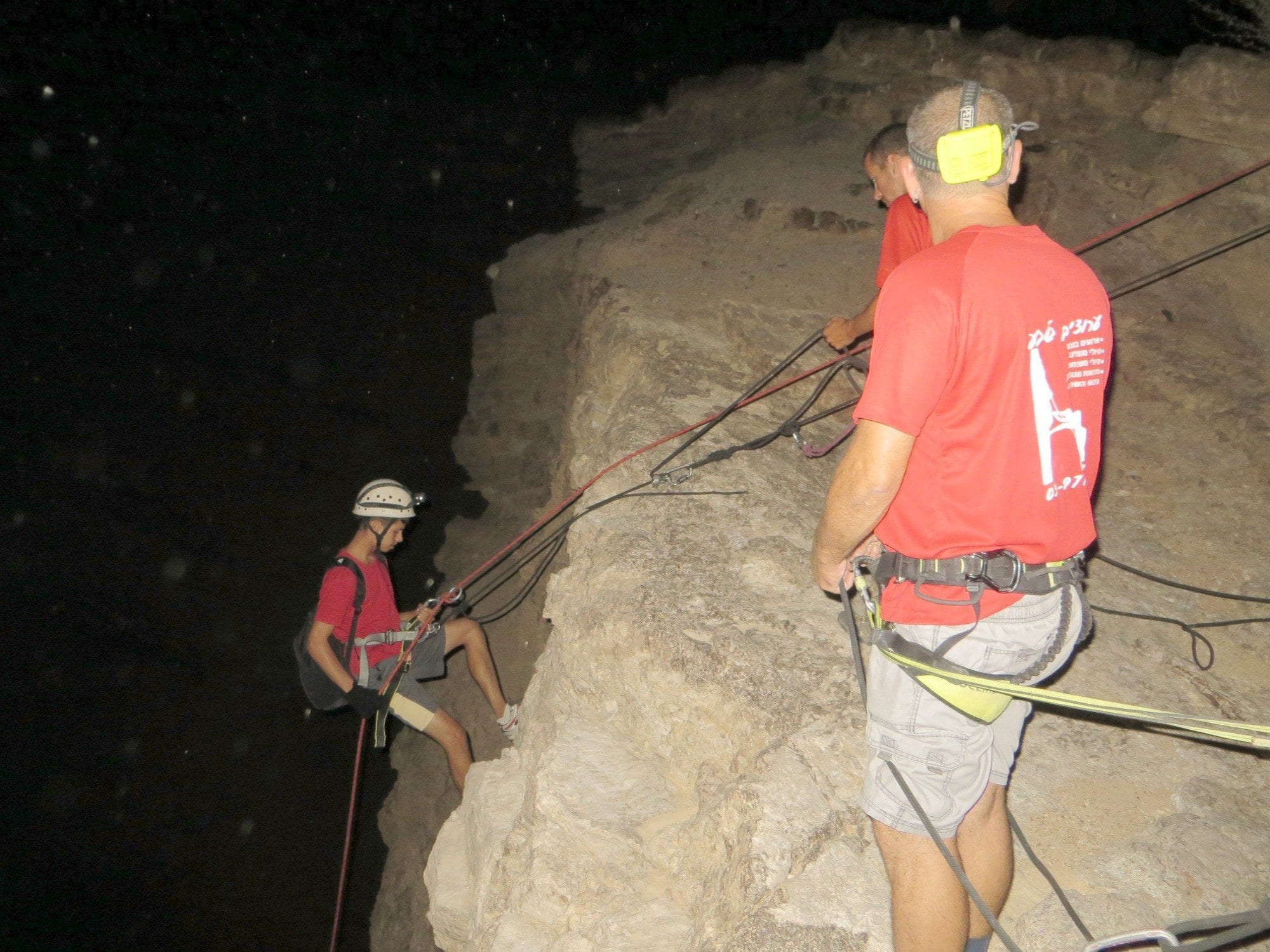 חוויה במדבר - סנפלינג - ערוצים בטבע