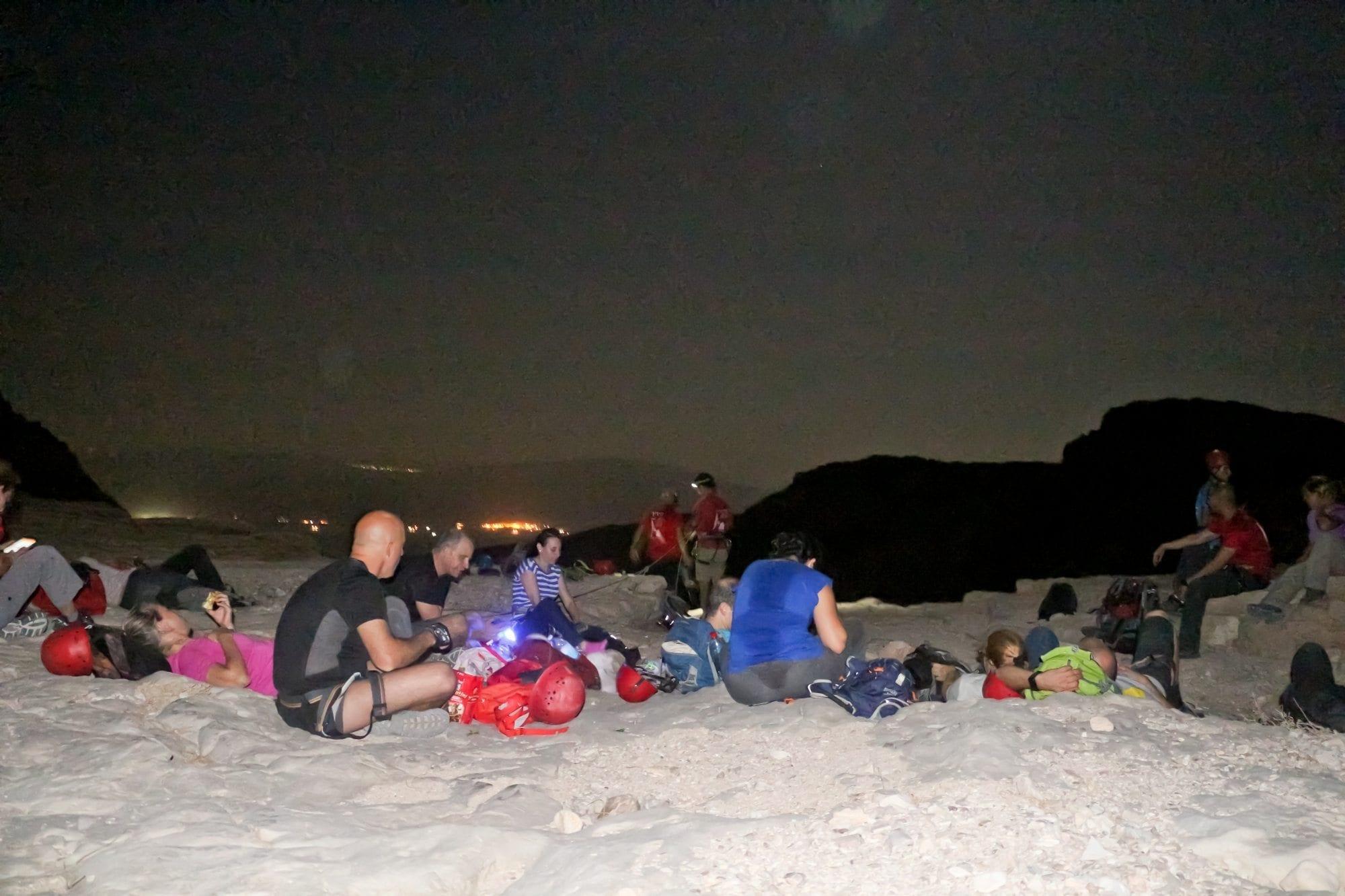 טיול לילה במדבר - ערוצים בטבע