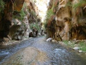 Ghuwair, ואדי גוואר, טיול בירדן, ערוצים בטבע