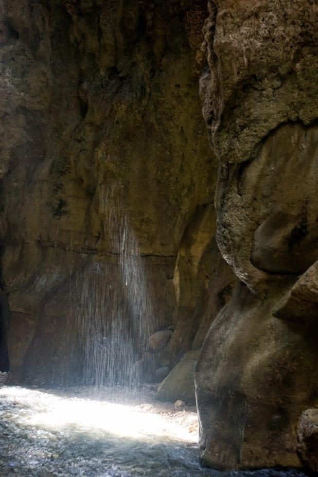 קניוני מואב - טיול בירדן - ערוצים בטבע