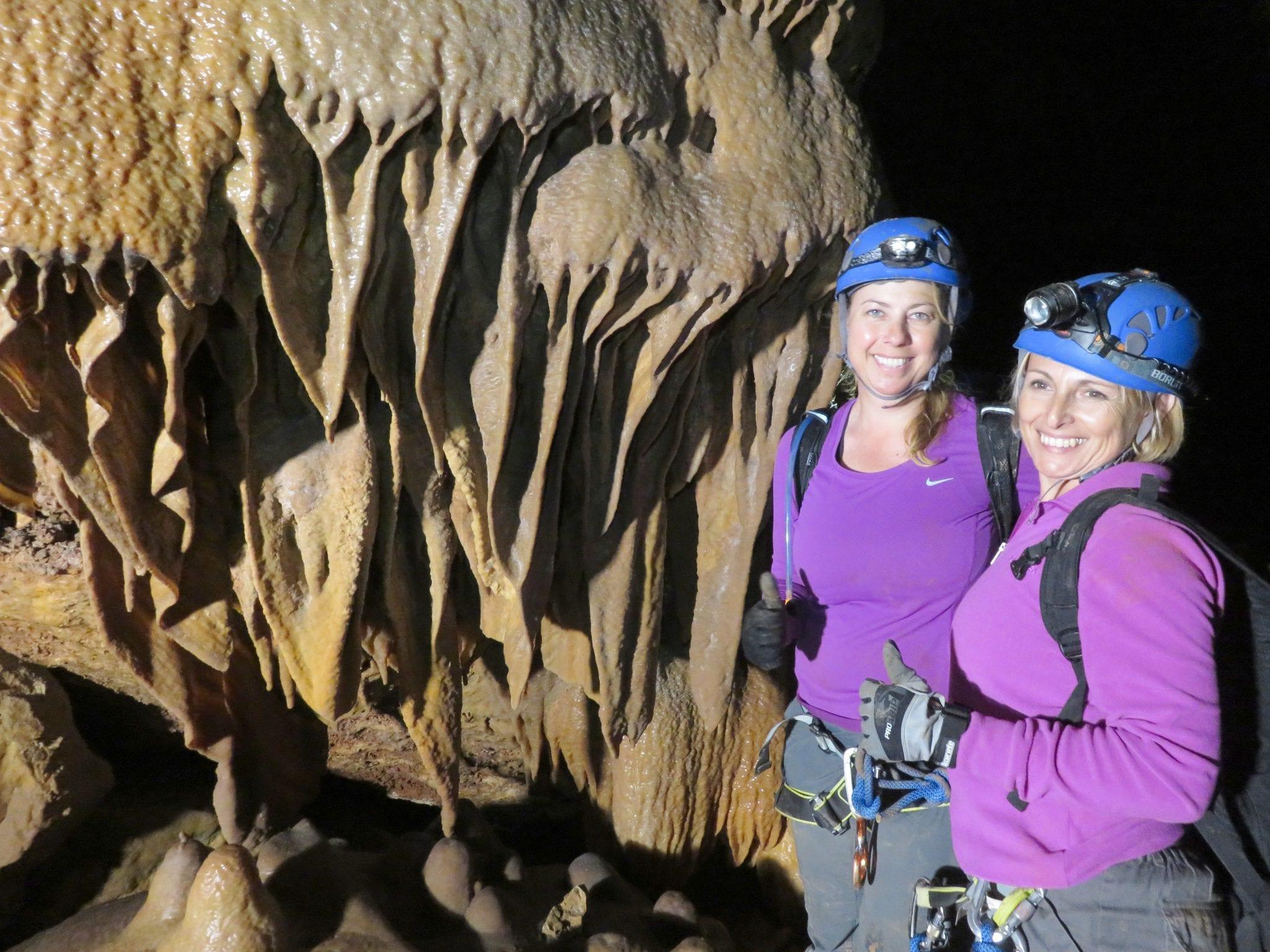 סנפלינג מערות באזור ירושלים - ערוצים בטבע