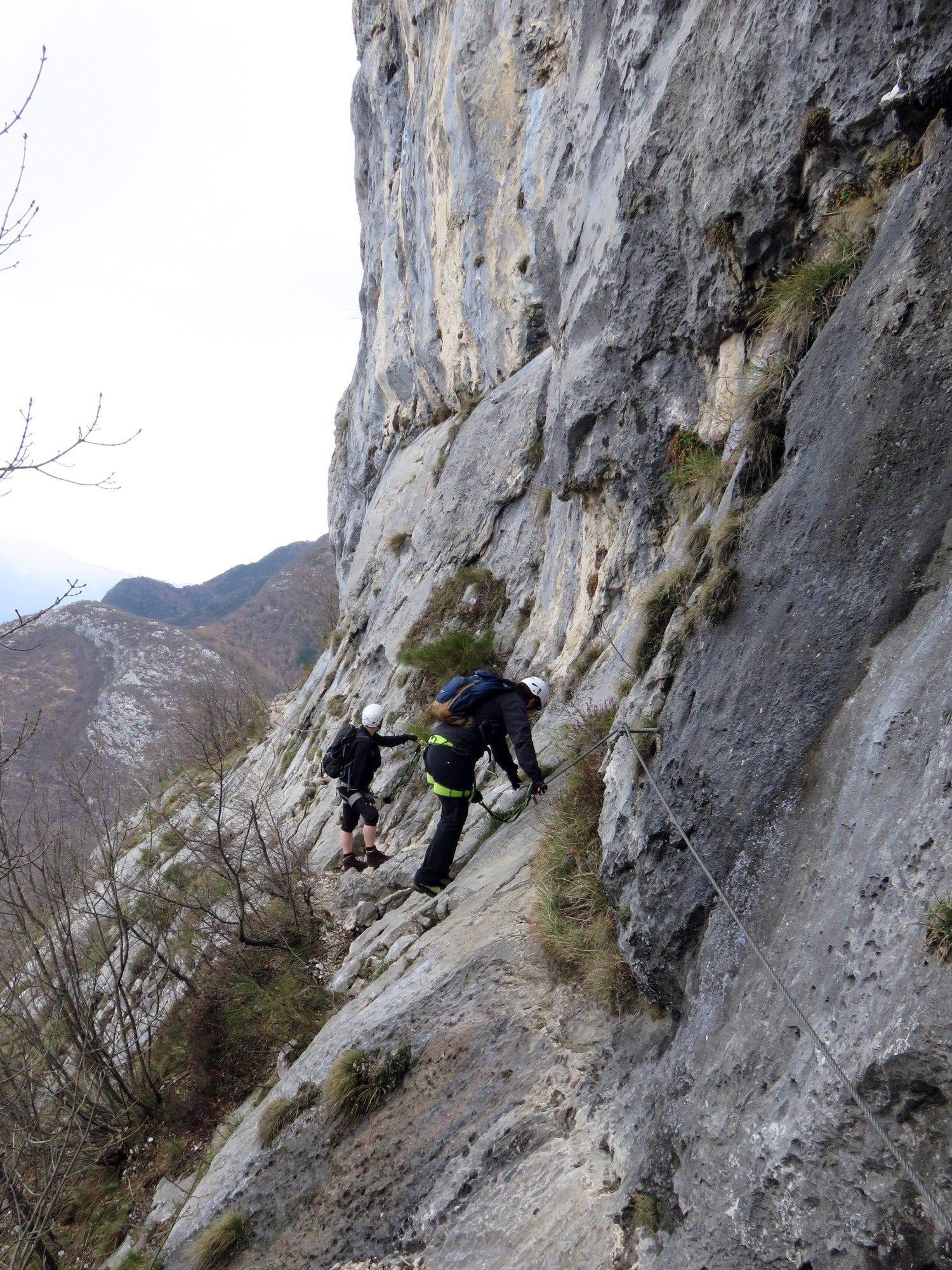 טיול אתגר באיטליה - קבוצה אינטימית - ויה פראטה Cima Capi - ערוצים בטבע
