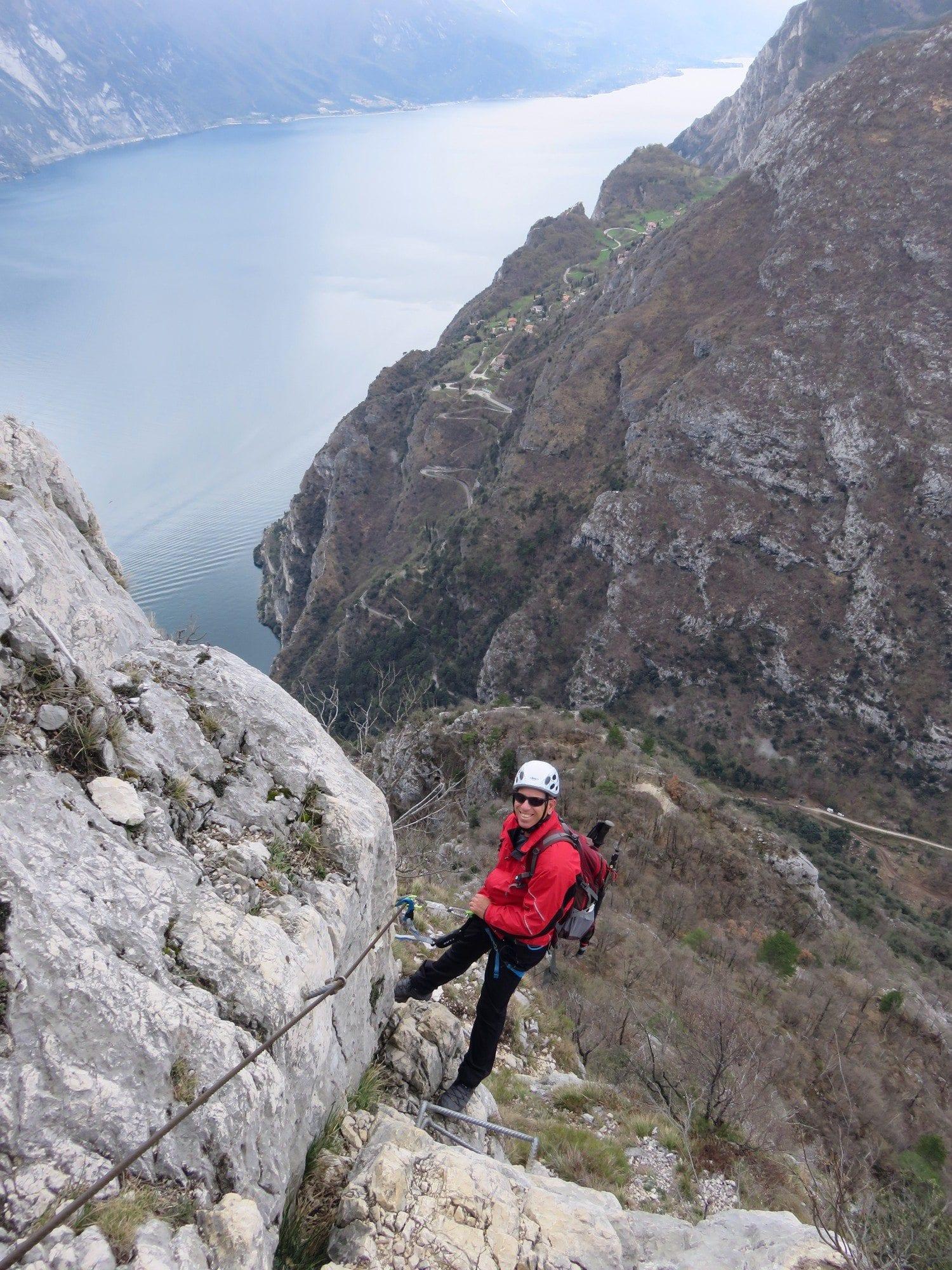 ויה פראטה דולומיטים, אגם גארדה, איטליה, טיול אתגר, ערוצים בטבע