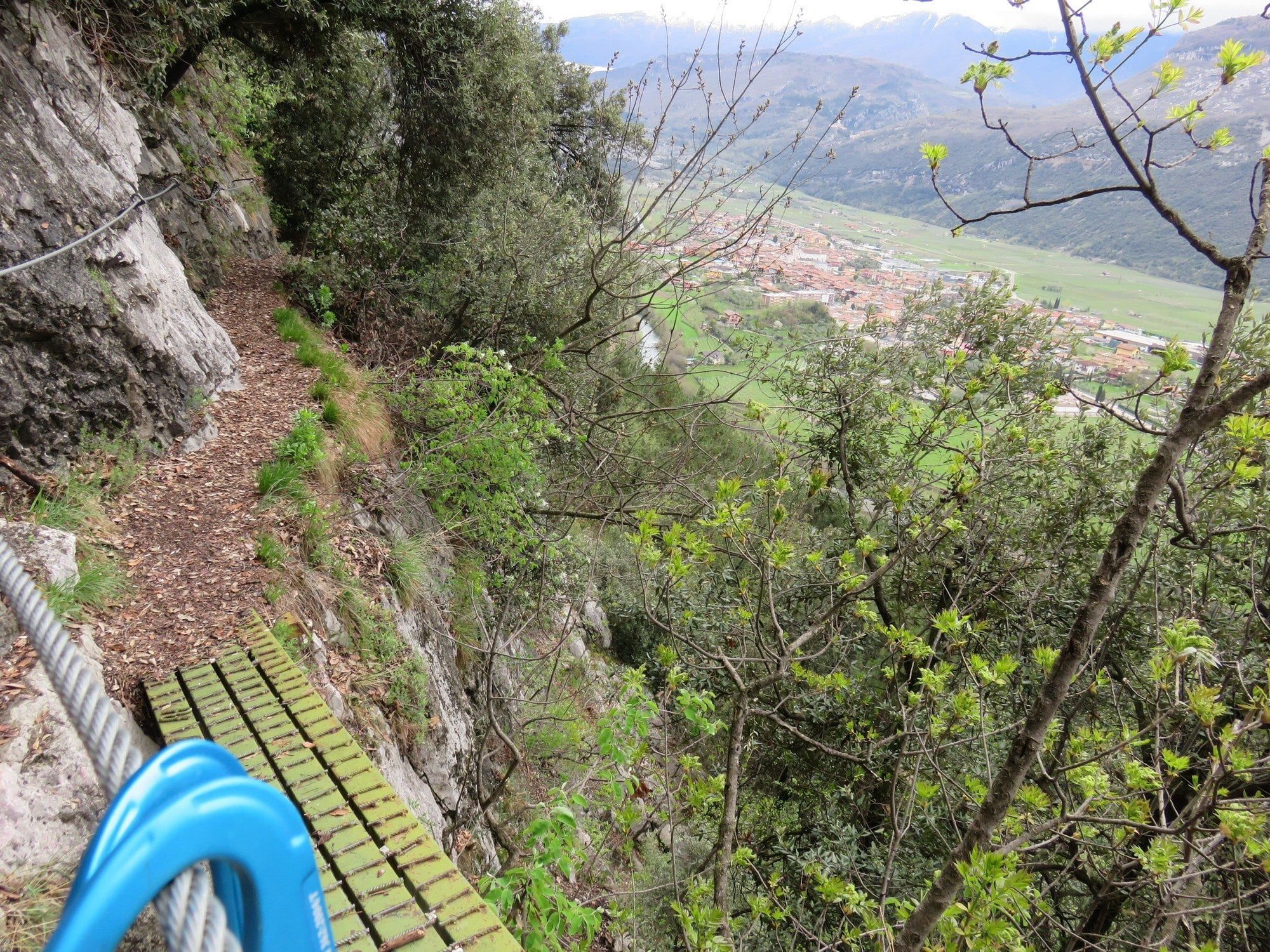 ויה פראטה Scaloni, ארקו, דולומיטים, טיול אתגרי צפון איטליה, ערוצים בטבע