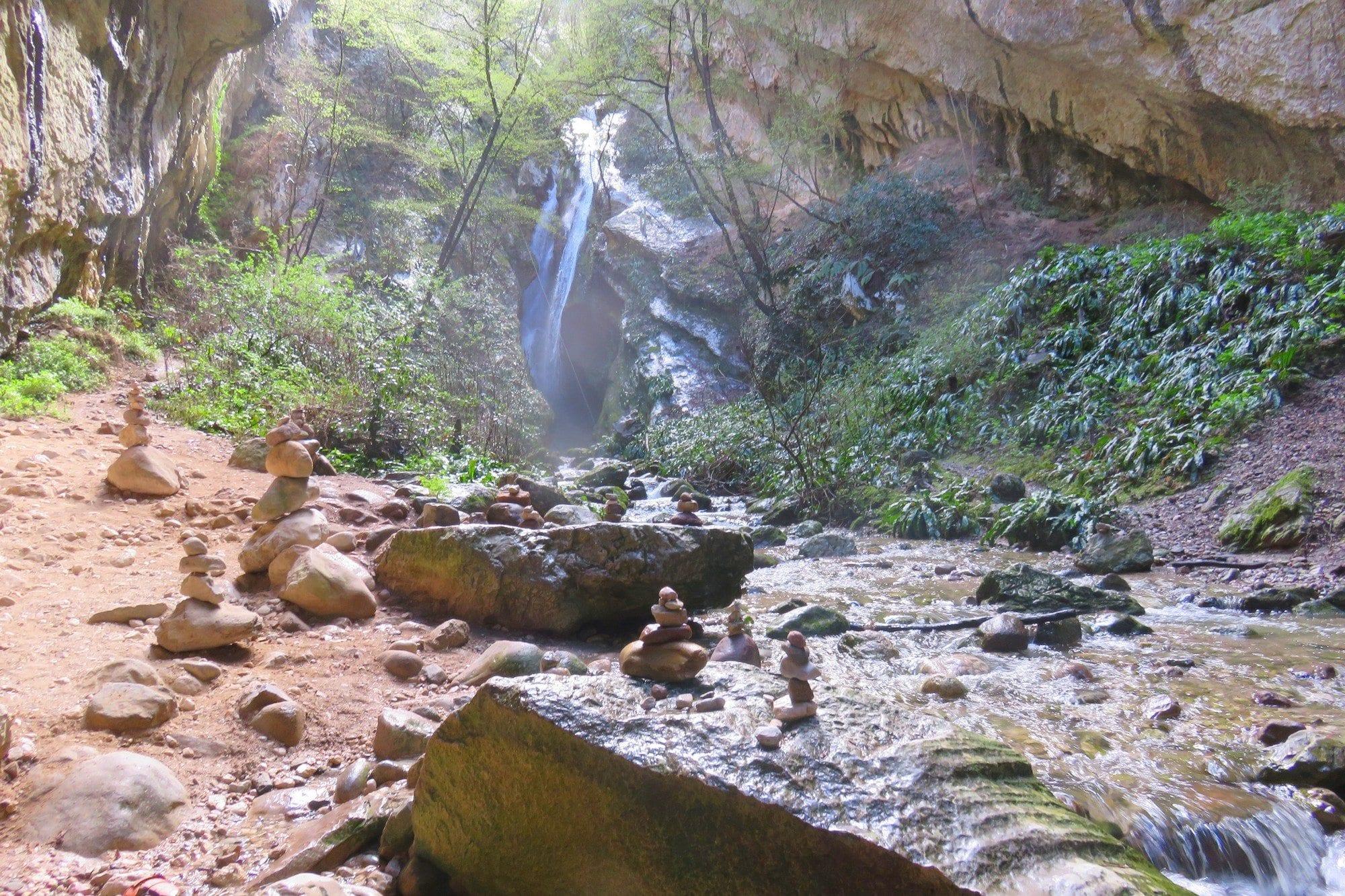 ויה פראטה Sallagoni - אתגר באיטליה - ערוצים בטבע