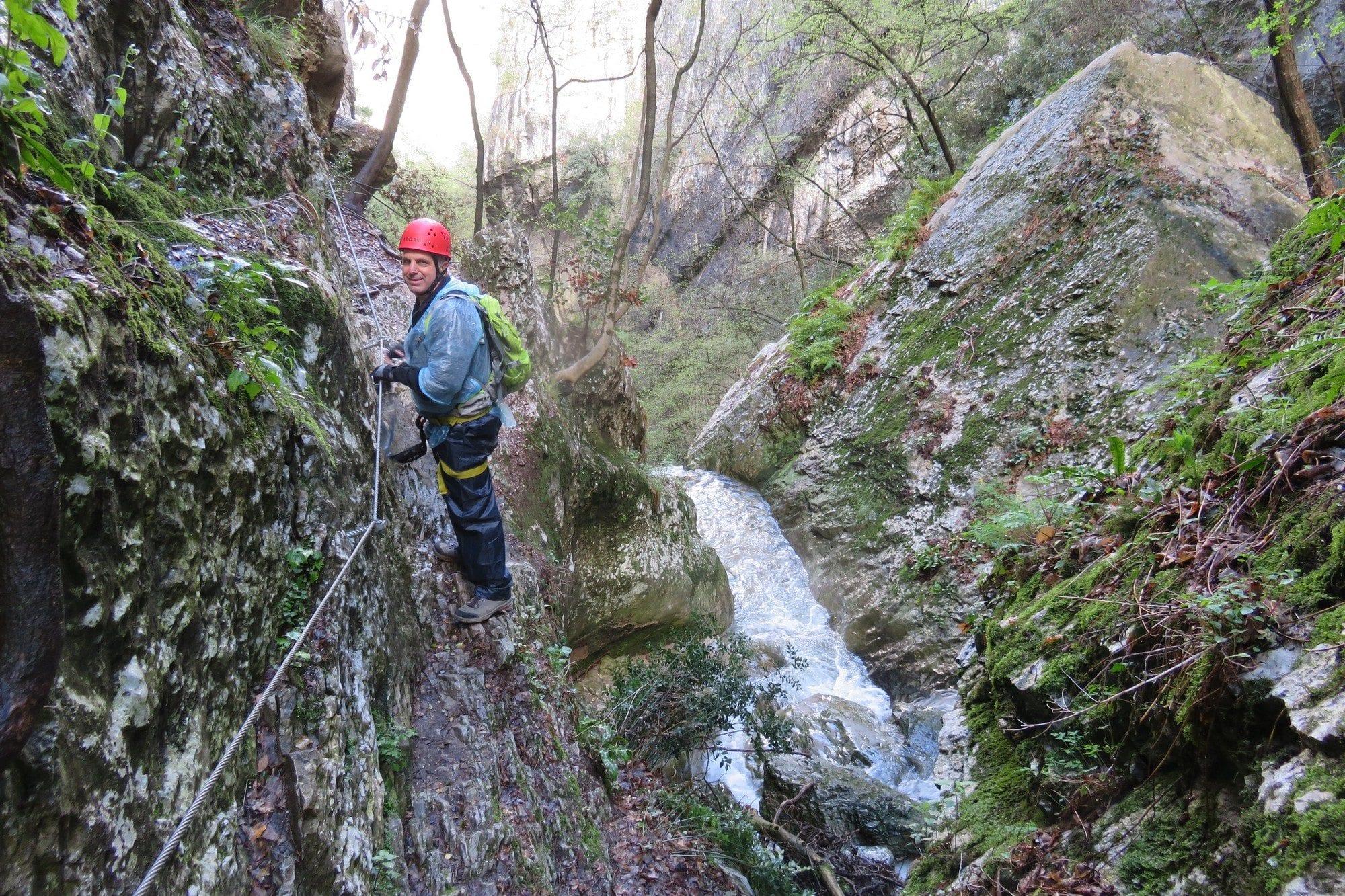 ויה פראטה Sallagoni - טיול אתגרי בצפון איטליה - ערוצים בטבע