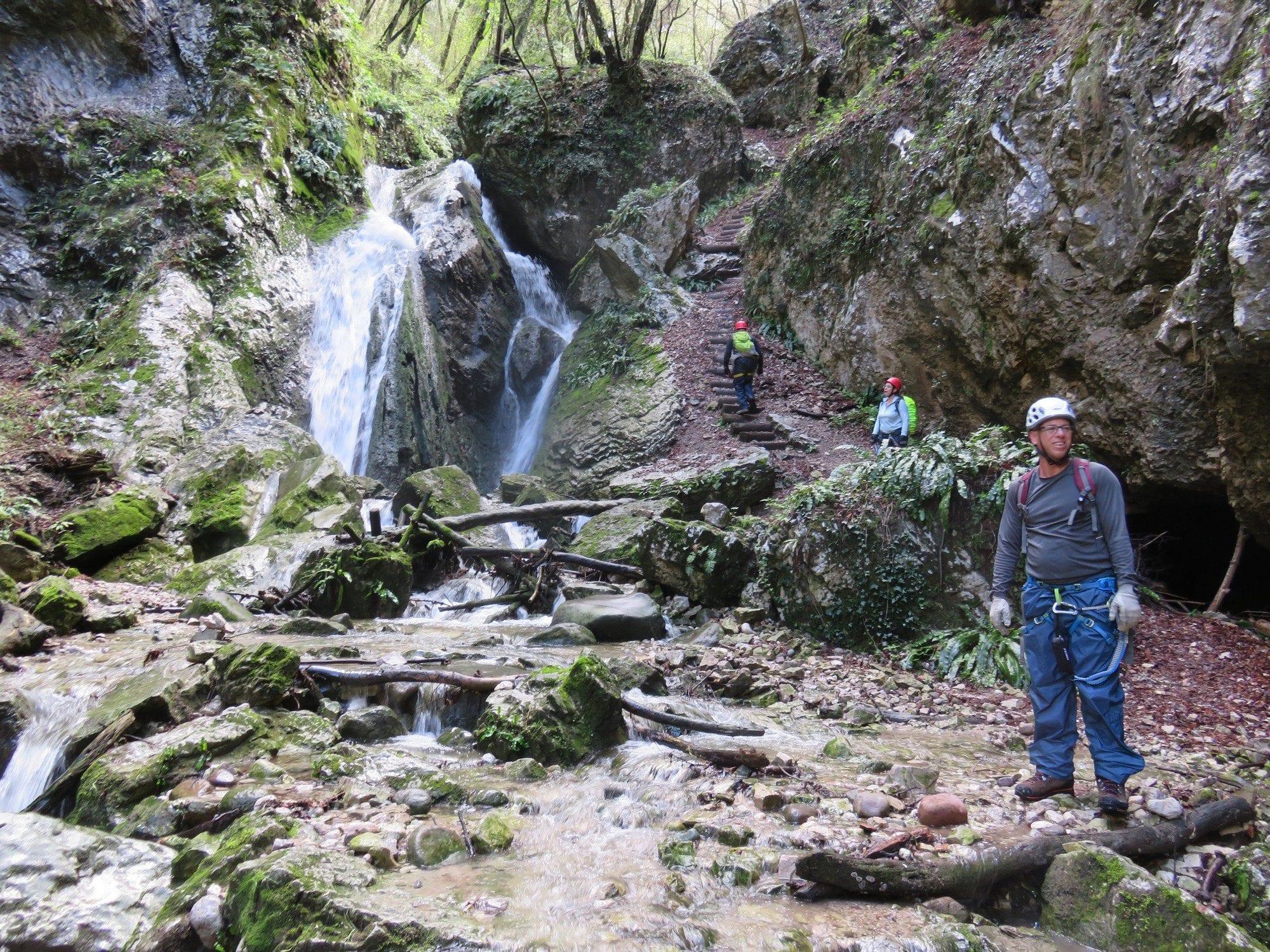 ויה פראטה Sallagoni - מפלים צפון איטליה - ערוצים בטבע