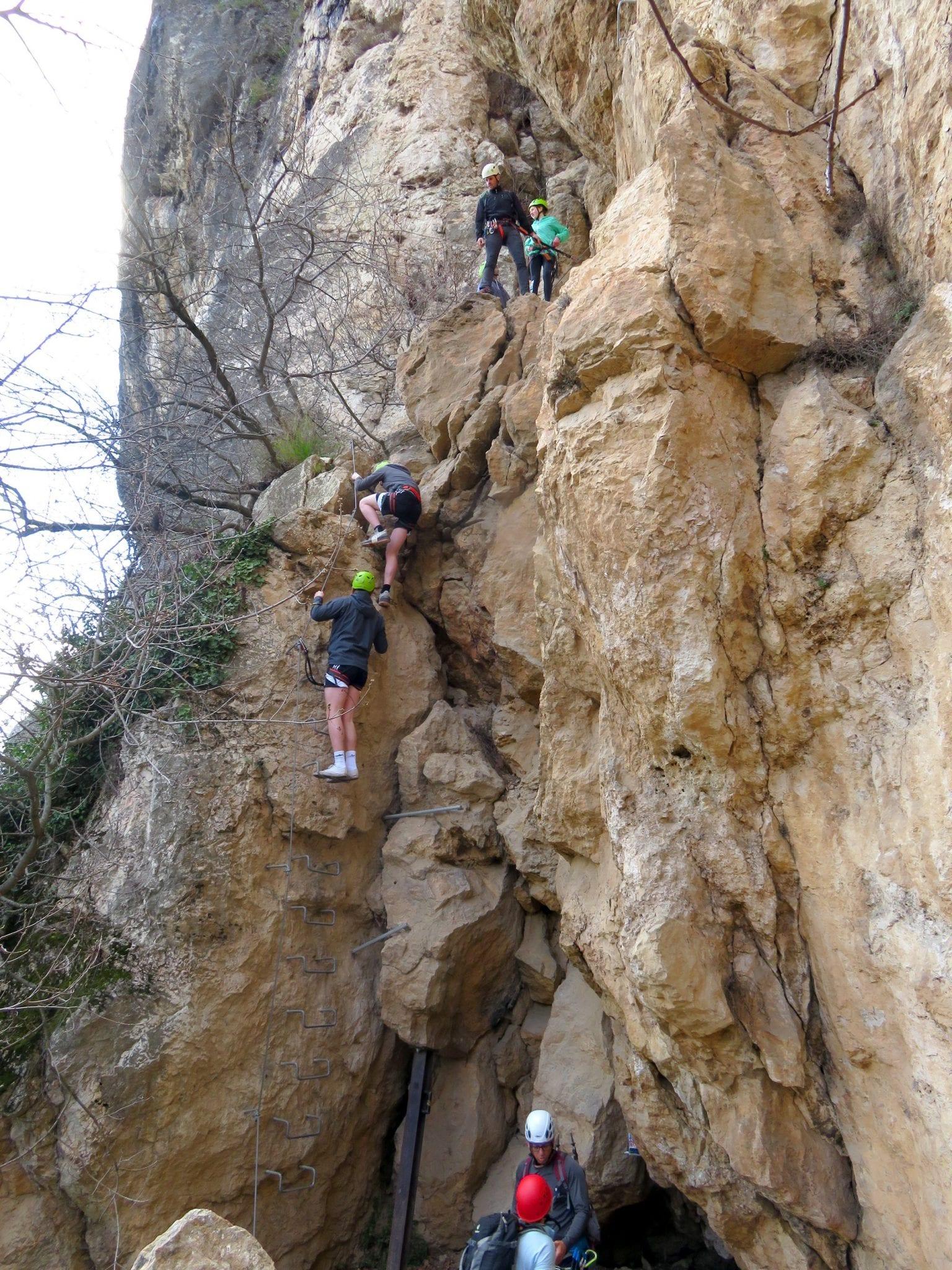 ויה פראטה Monte Albano - מסלול אתגרי - ערוצים בטבע