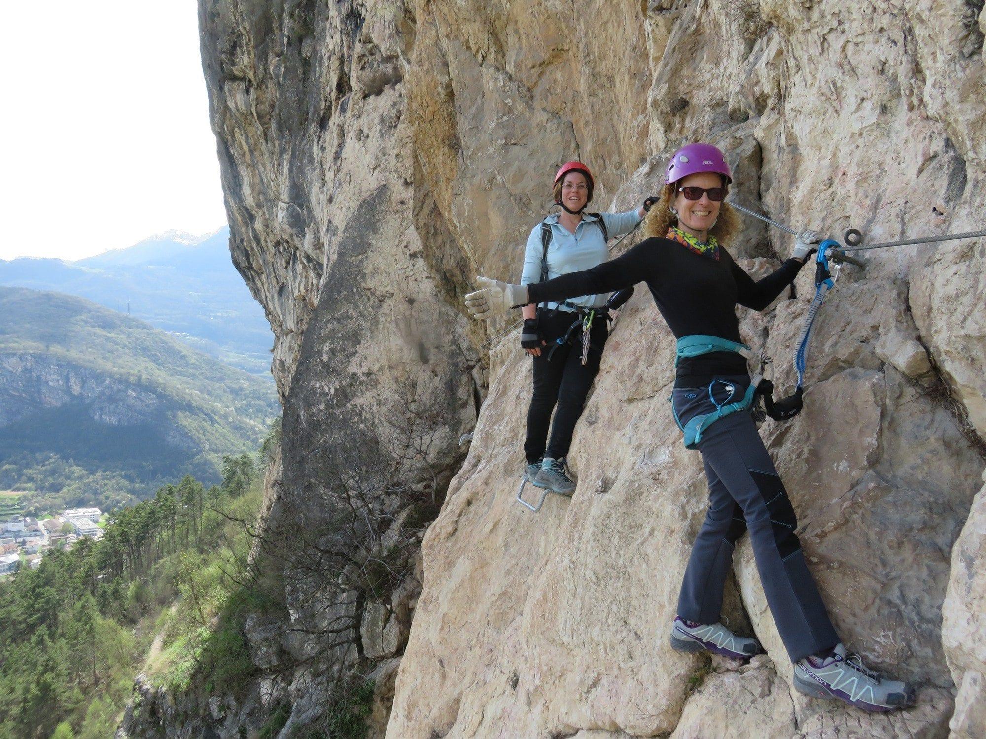 ויה פראטה Monte Albano - טיולי אתגר צפון איטליה - ערוצים בטבע