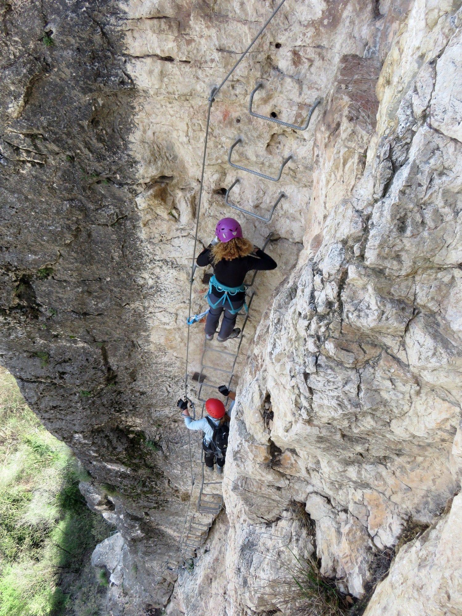 ויה פראטה Monte Albano - אקסטרים באיטליה - ערוצים בטבע