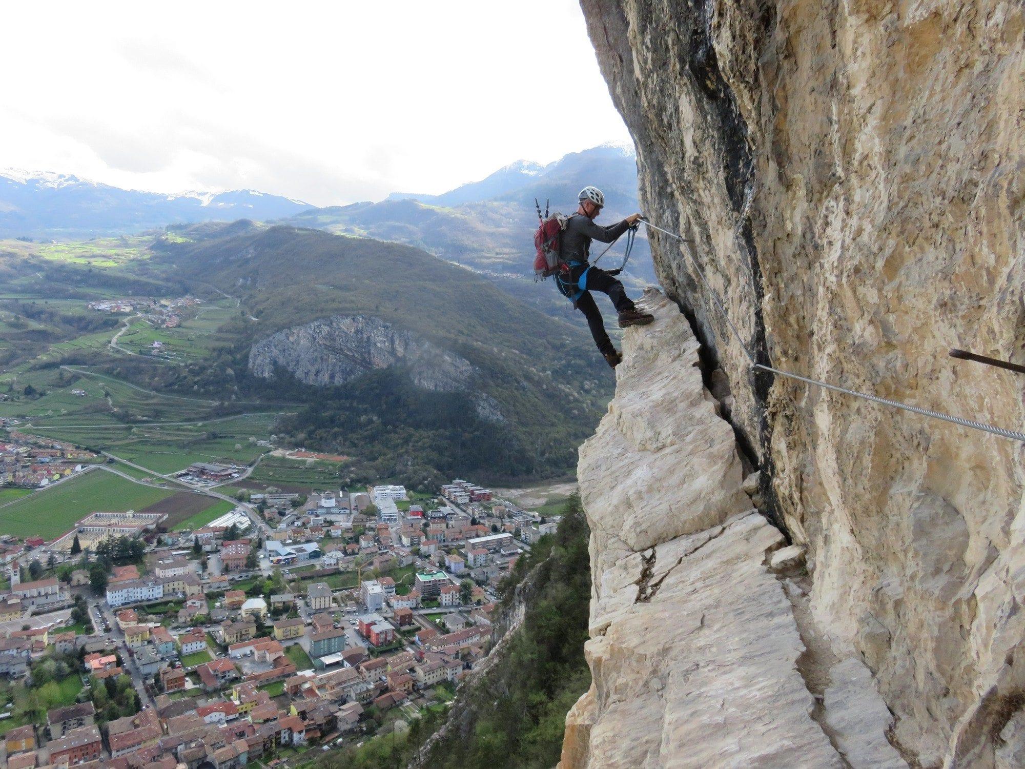 טיפוס ויה פראטה צפון איטליה - Albano - ערוצים בטבע