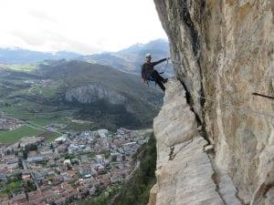טיפוס ויה פראטה צפון איטליה - Monte Albano - ערוצים בטבע