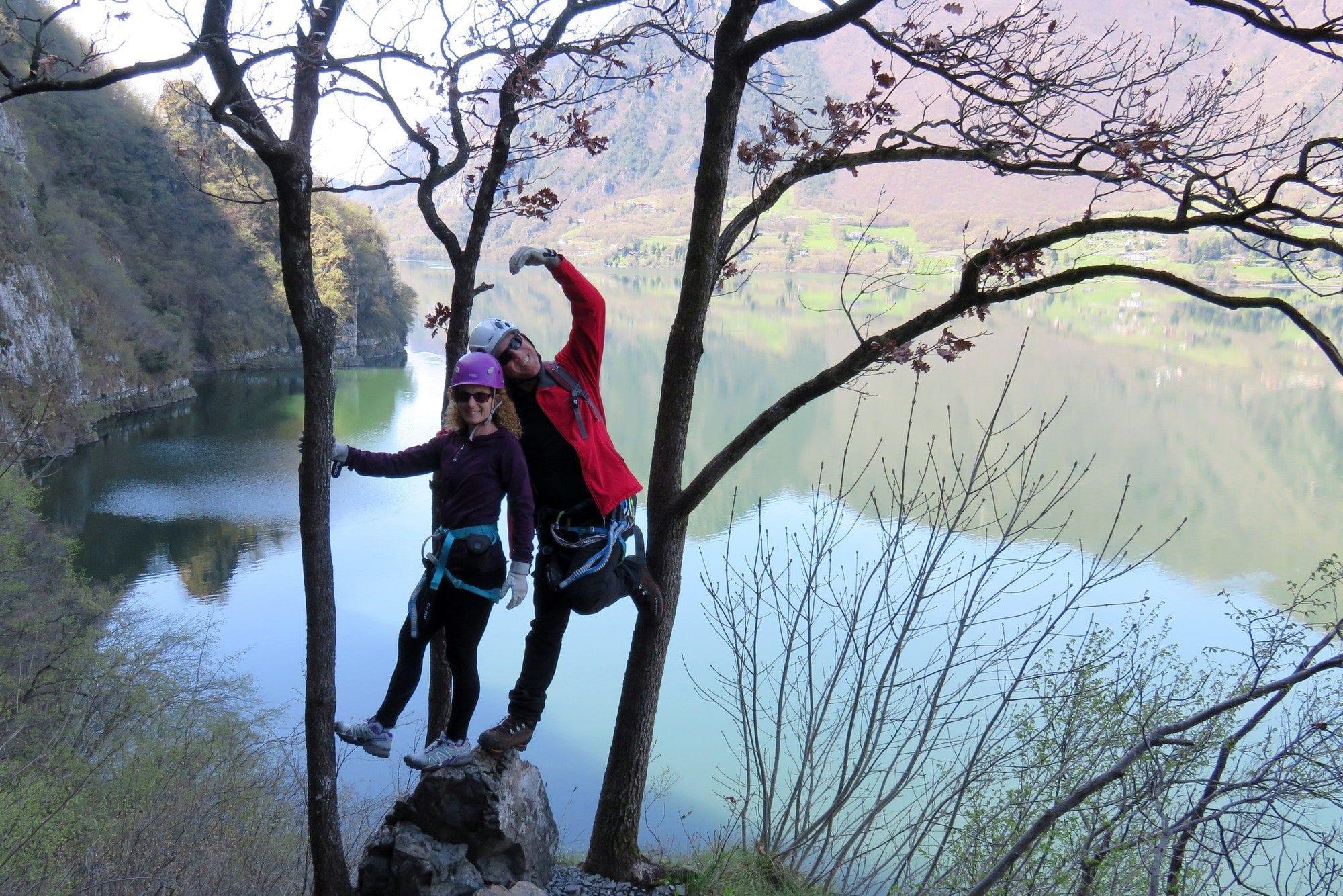 ויה פראטה Sasse - אגם אידרו איטליה - ערוצים בטבע