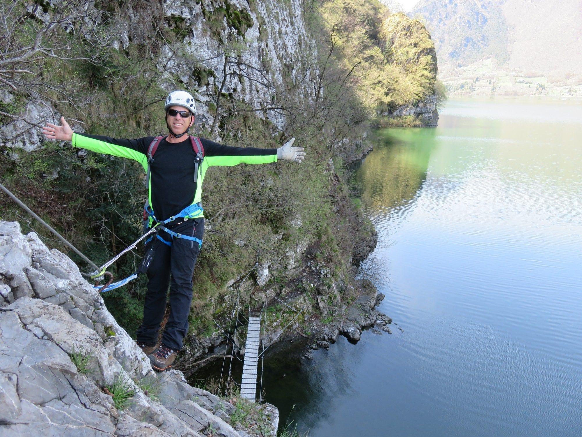 ויה פראטה Sasse - אגם אידרו צפון איטליה - ערוצים בטבע