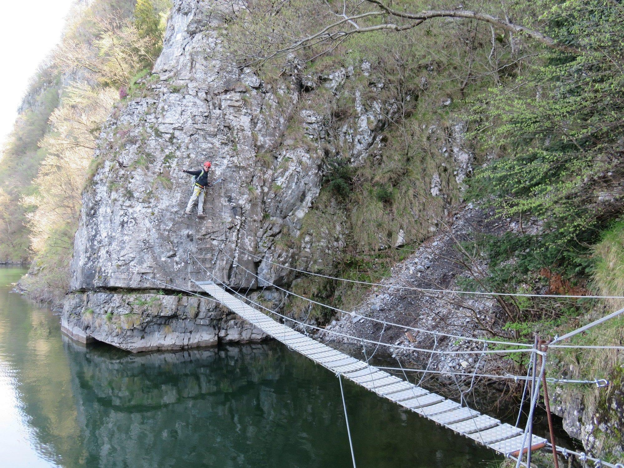 ויה פראטה Sasse - טיול אתגר באיטליה - ערוצים בטבע