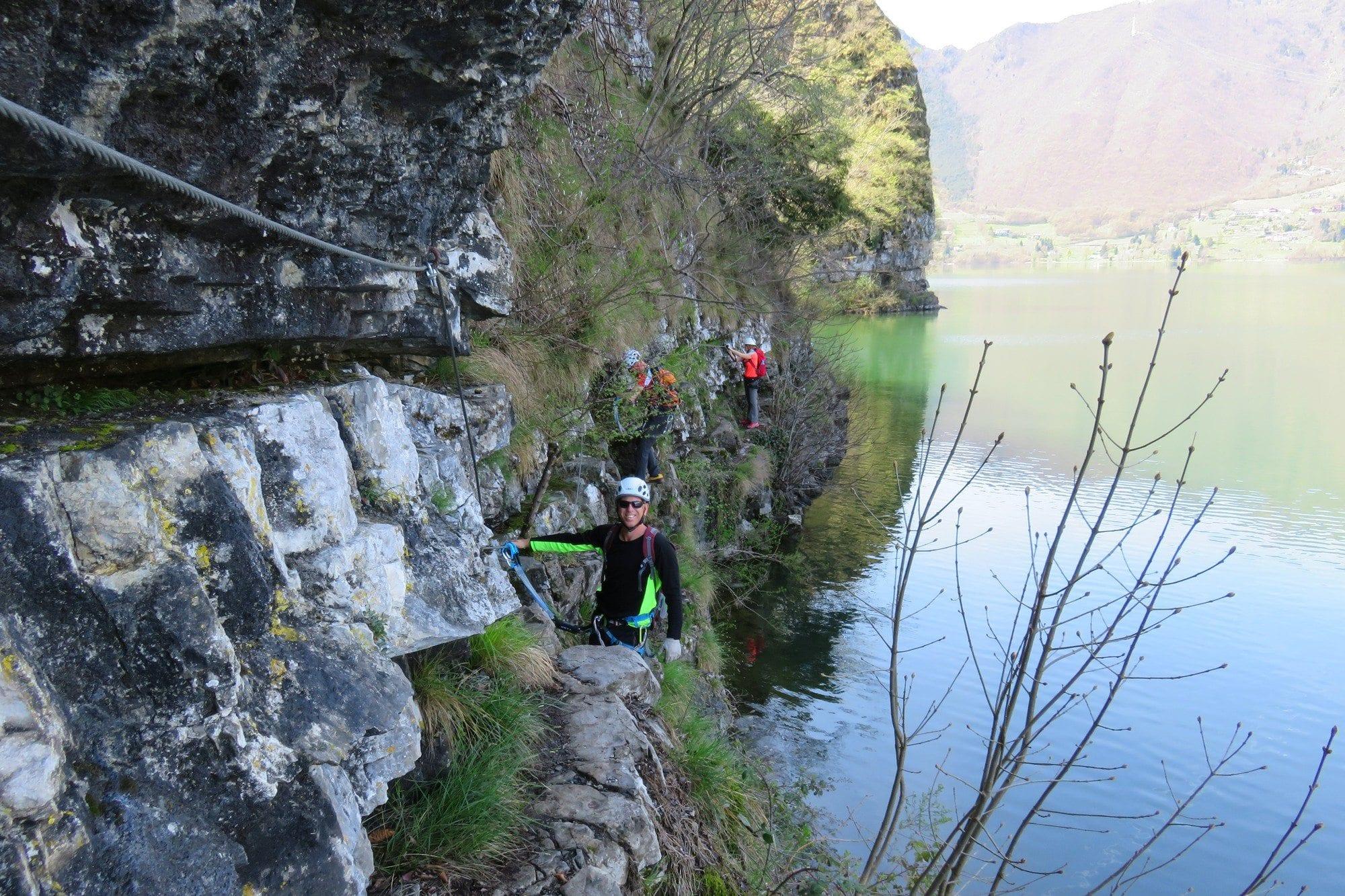 ויה פראטה Sasse - טיול אתגר מאורגן בצפון באיטליה - ערוצים בטבע
