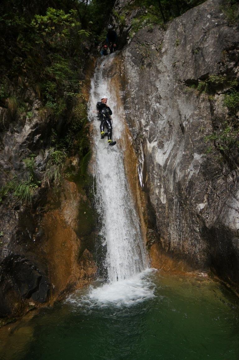 מגלשות בטבע - פליון -  טיול מאורגן ביוון עם ערוצים בטבע