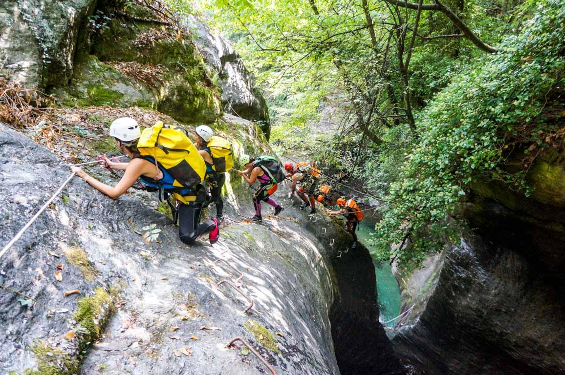 ויה פראטה - פליון -  טיול מאורגן ליוון - ערוצים בטבע