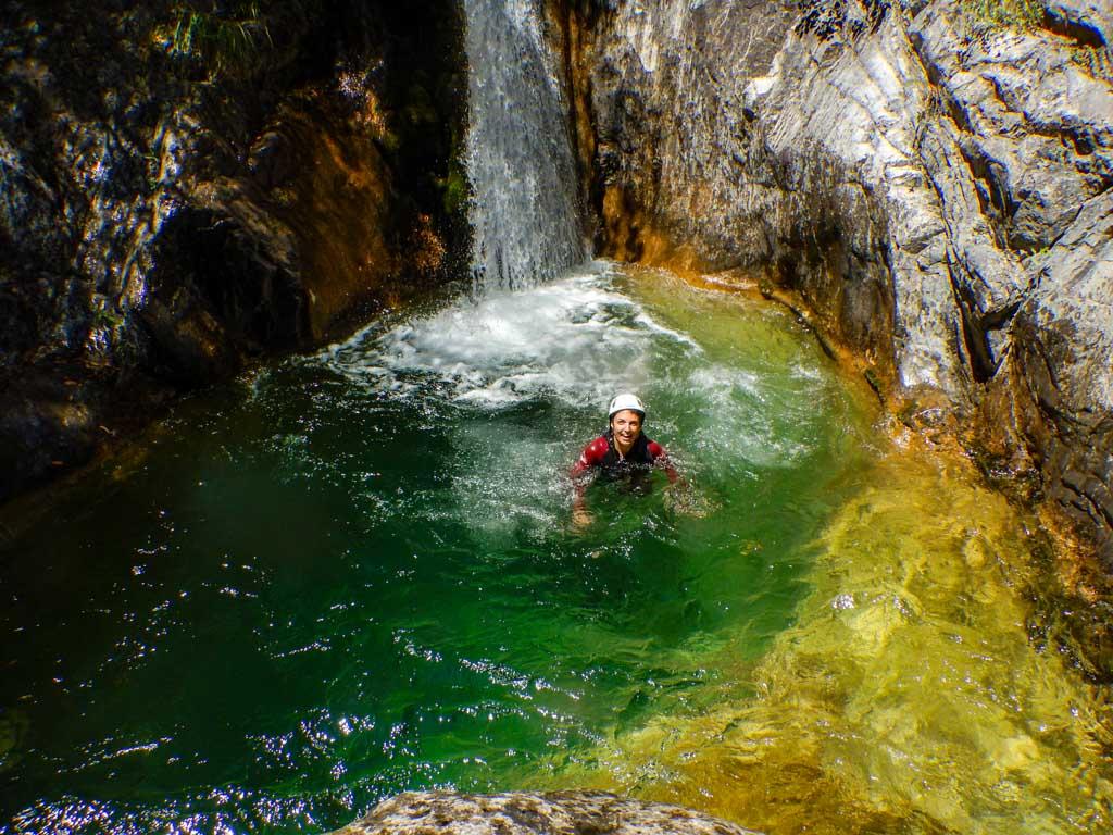 טיול בנחלי פליון - יוון - ערוצים בטבע