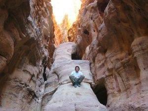 קניון ראקבת - ואדי ראם - טיול בירדן - ערוצים בטבע