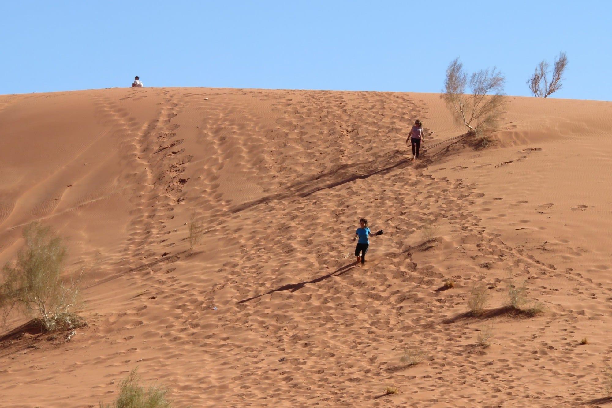 Wadi Rum - ואדי ראם ירדן - ערוצים בטבע - דיונות החול